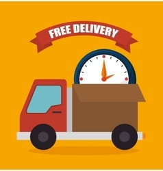 Delivery and logistic business vector