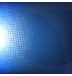 Dark Blue Background With Blur vector image vector image