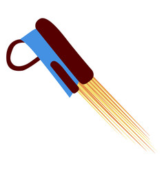 Isolated jetpack icon vector