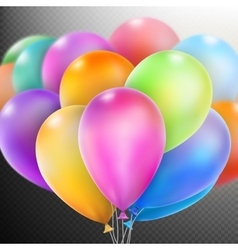 Balloons isolated eps 10 vector