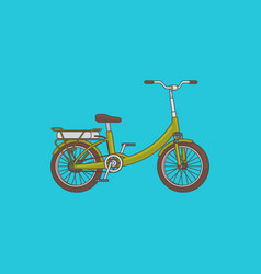 Detailed bike concept vector
