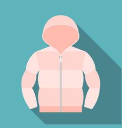 duvet coat vector image vector image
