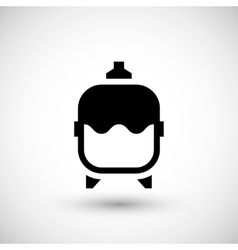 Expansion tank icon vector