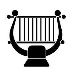 harp - string music classical icon vector image vector image