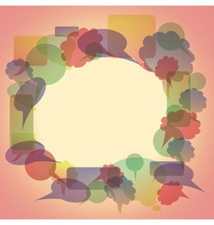 Bubble from bubble vector image