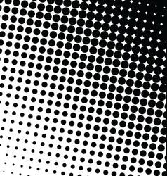 Abstract dotted background halftone effect 4 vector
