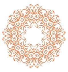 Floral decorative elements vector