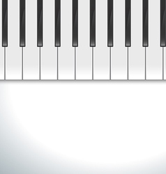 Keyboard piano vector