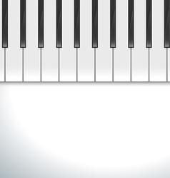 Keyboard piano vector