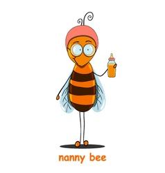 Nanny bee vector