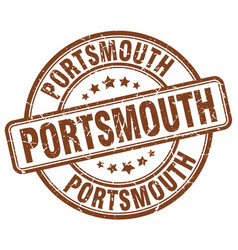 Portsmouth stamp vector