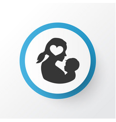 Newborn baby icon symbol premium quality isolated vector
