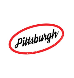 Pittsburgh rubber stamp vector