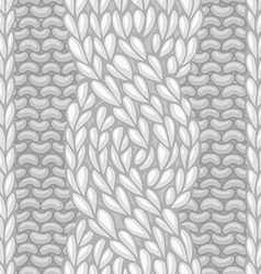 Six-stitch cable stitch vector