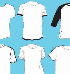 Apparel template vector