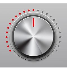 Volume knob vector