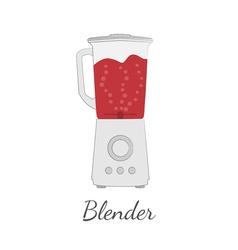 Blender in flat design vector image vector image
