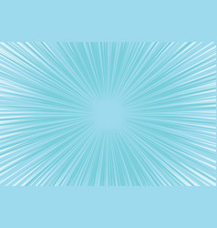 blue cool light pop art comic background vector image