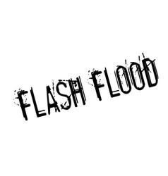 Flash flood rubber stamp vector