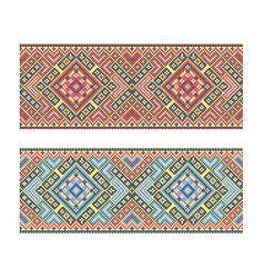 Ukrainian pattern vector image