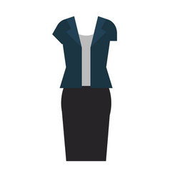 women casual clothes icon vector image vector image