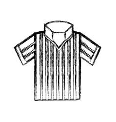 Referee tshirt wear vector