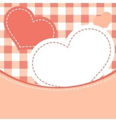 greeting frame design eps 8 vector image