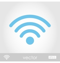 Wi-fi icon vector