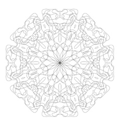 Abstract monochrome pattern vector