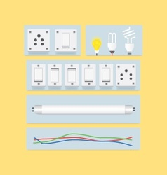 Electric items vector
