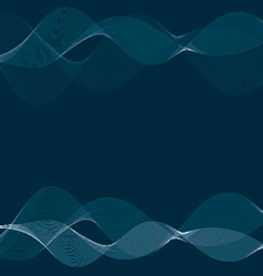 Abstract blue smokey background vector