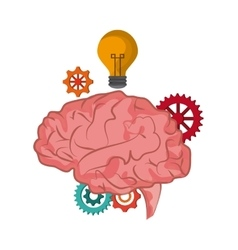 Brain icon Thinking design graphic vector image