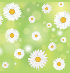 Floral seamless pattern flower background summer vector