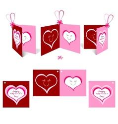 Valentine card2 vector image