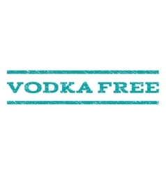 Vodka free watermark stamp vector