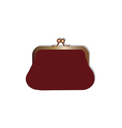 Woman purse vector