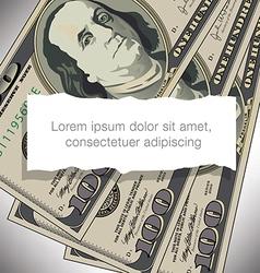 100 Torn Paper vector image