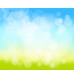 blurred natural background vector image vector image