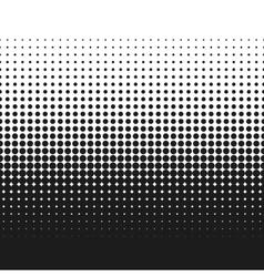 Dotted gradient retro vector image