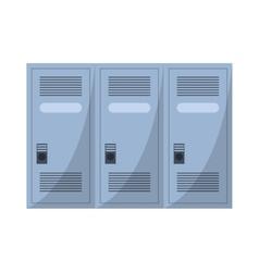 Locker room american football vector
