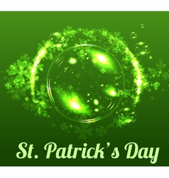 St Patricks day background vector image vector image