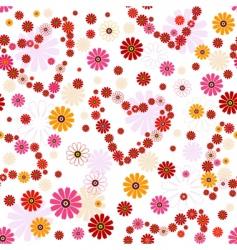 Valentine's pattern vector image