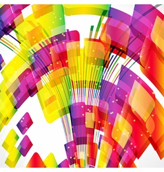 Multicolor abstract bright background vector image
