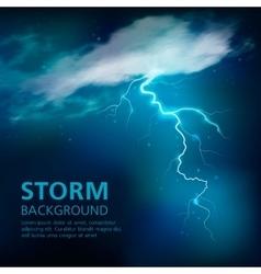 Bolt of lightning background vector