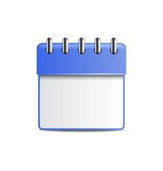Engagement calendar vector image