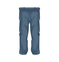 Men pants icon cartoon style vector image vector image