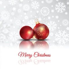 merry christmas background 2711 vector image vector image
