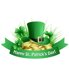 St Patricks background vector image vector image