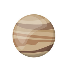venus planet space image vector image