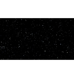 Stars background with milky way vector